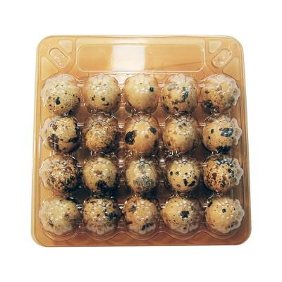 Упаковка для яиц (20) коричневая