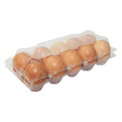 Бокс на куриных 10 яиц ПЭТФ