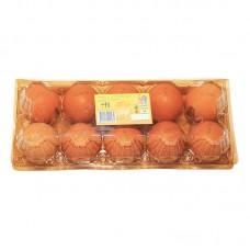 Бокс на куриных 10 яиц ПЭТФ кор.