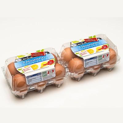 Упаковка для яиц Ovotherm Vision 2x6 US
